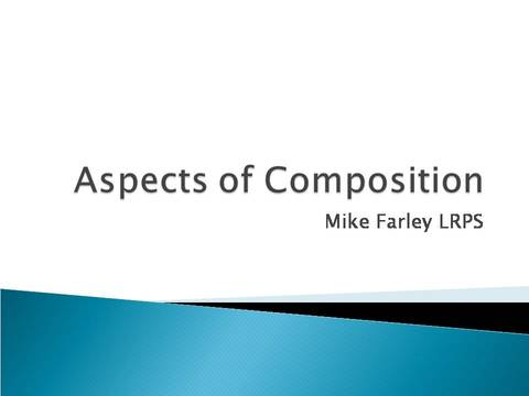 Aspects of Composition title slide