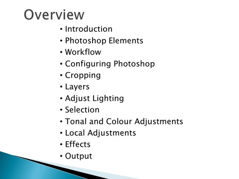Photoshop FTJ Overview